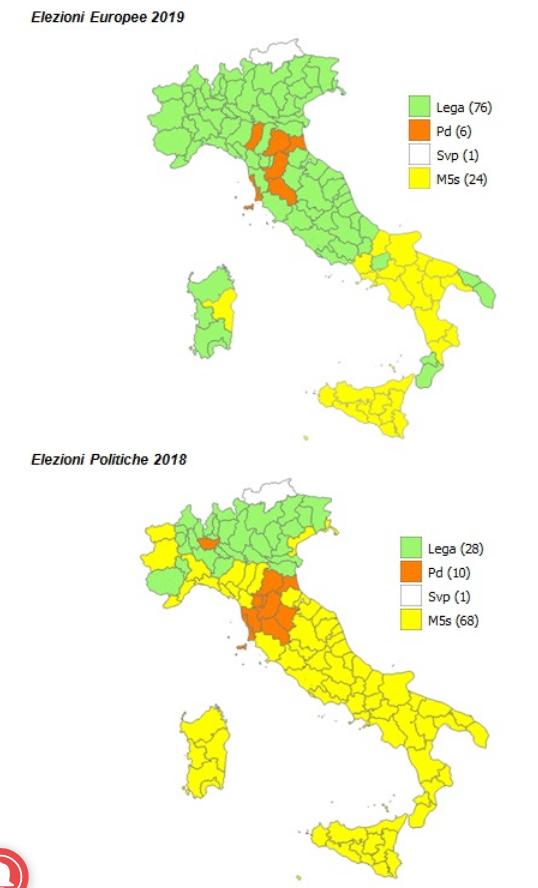 2019-05-30__Elezioni Italia. Analisi del Voto. Parte 2. Regioni e Provincie.__002