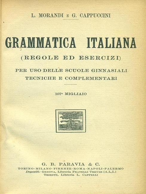 Grammatica Italiana 001