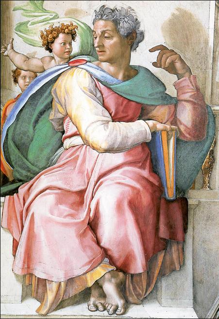 Michelangelo. Profetessa. 001