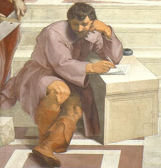 1483-1520__Raffaello__La_Scuola_di_Atene_Il Pensatore_