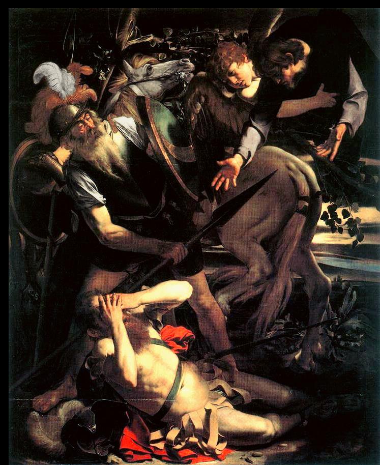 Caravaggio. Conversione San Paolo. 1601. Collezione Odescalchi.