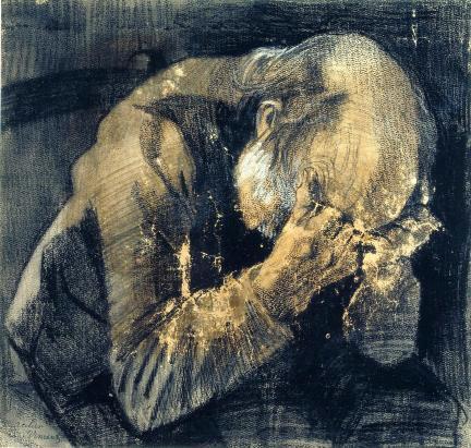 Vincent van Gogh - Vecchio che soffre