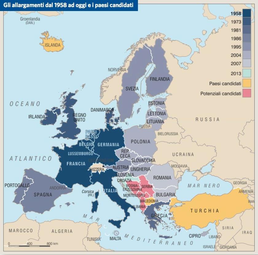Europa. Stati membri
