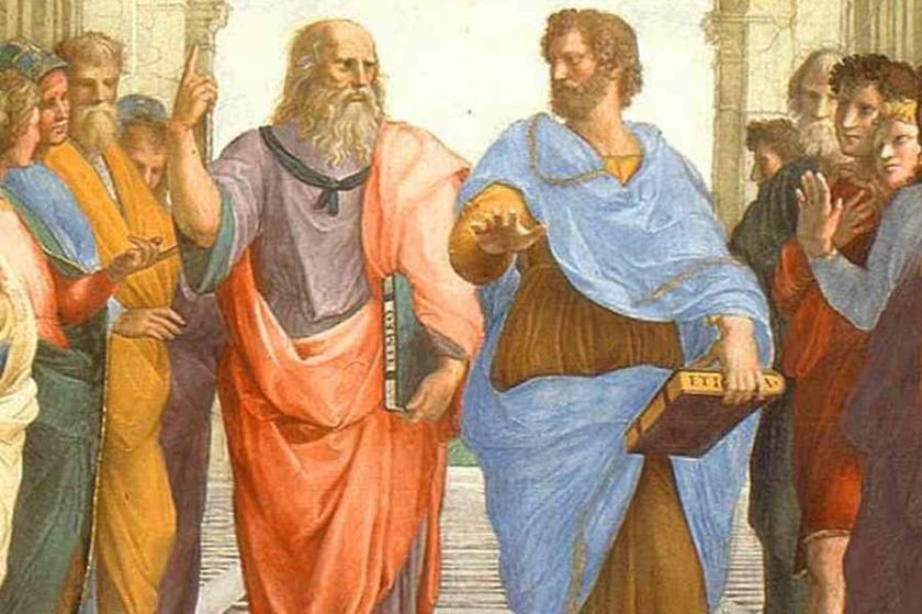Raffaello. Platone ed Aristotele 001