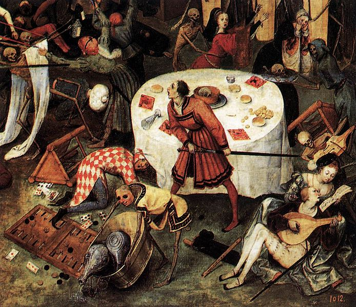 Brügel il Vecchio. Trionfo della Morte. Particolare. Museo del Prado.