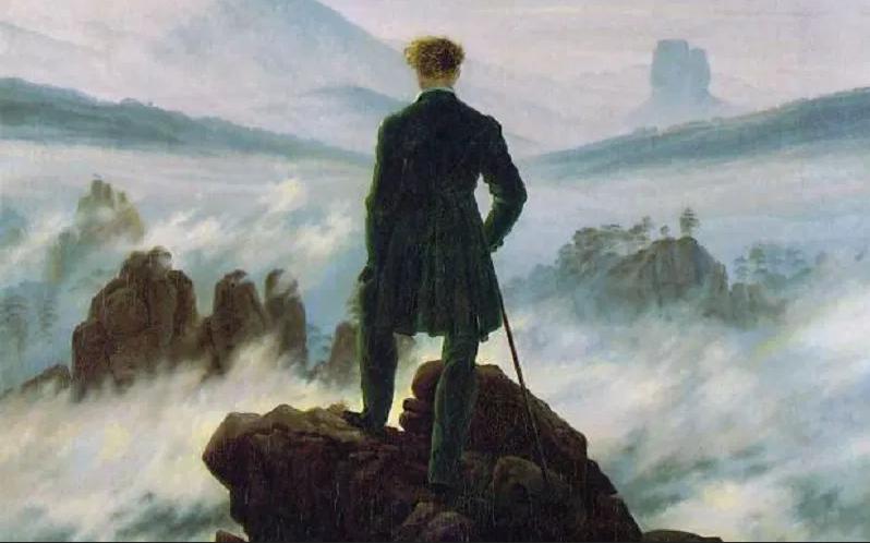 Friedrich Caspar. Infinito. Solitudine. 001