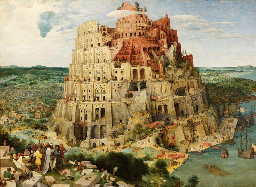 Bruegel Pieter. Torre di Babele. 1563. Vienna__001