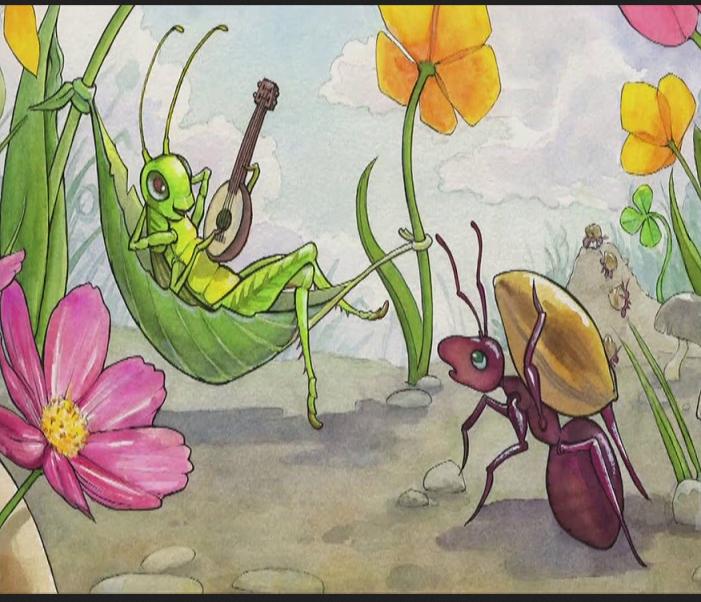 Cicala e Formica