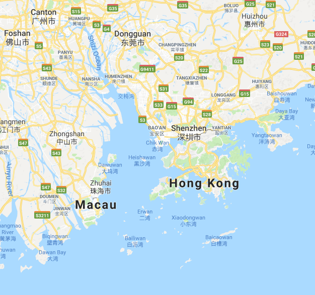 Homg Kong - Macau 001