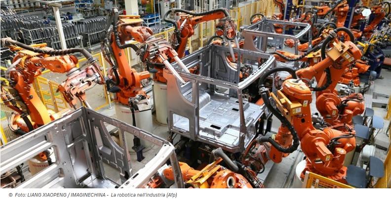 Produzione Robot 013