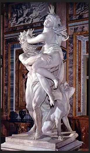 Bernini. Ratto di Proserpina. 001