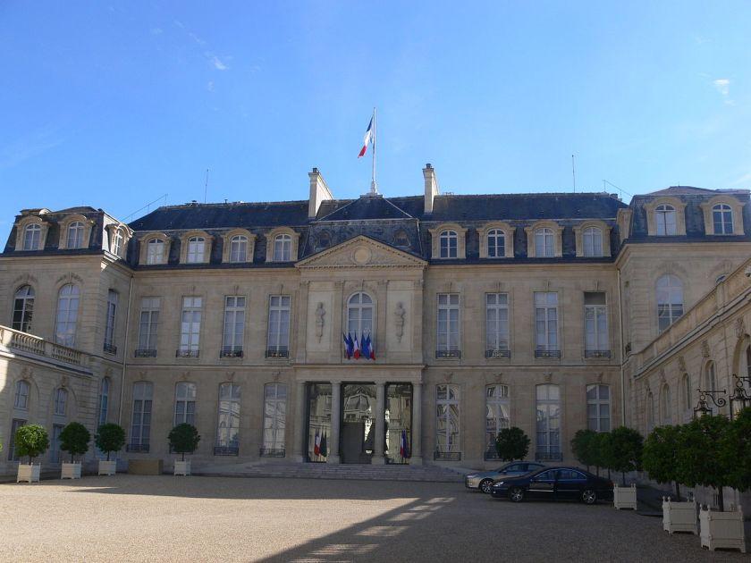Paris - Palais de l'Élysée - Cour