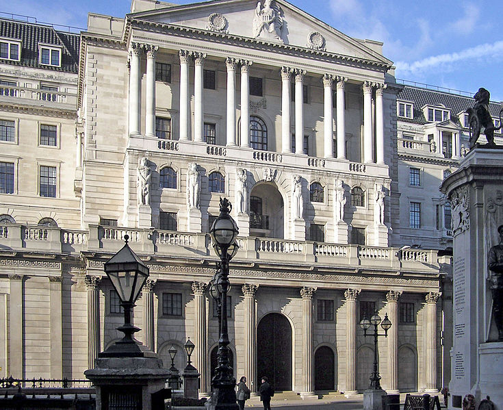 BOE. Banca di Inghlterra. London. UK.