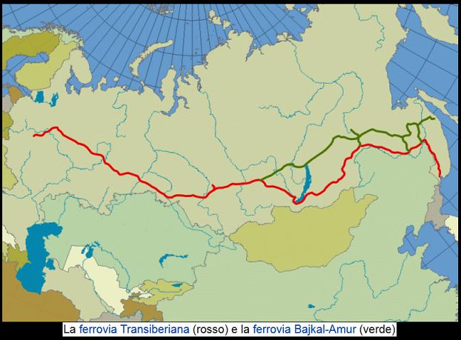 Russia. Ferrovia Transiberiana. 001