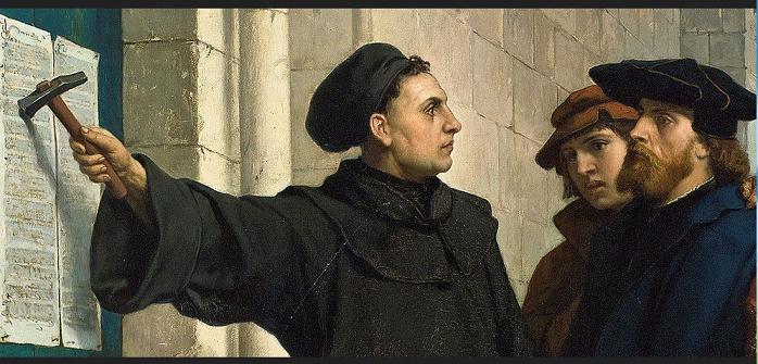 Lutero. 95 Tesi 001